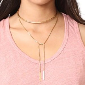 Madewell wrap necklace